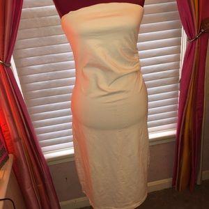 Victoria's Secret  long strapless dress